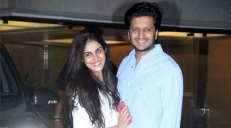 Genelia D'Souza returns to acting, Riteish Deshmukh excited