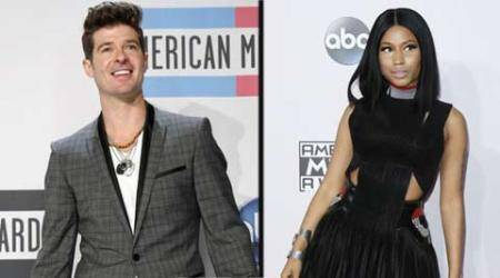 Robin Thicke, Nicki Minaj reunite for new collaboration