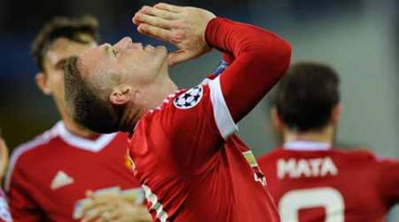 Wayne Rooney hat-trick seals Manchester United Champions League return