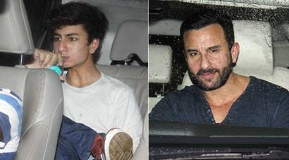 Ibrahim Khan watches dad Saif Ali Khan's 'Phantom'