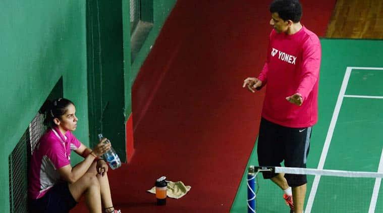 saina nehwal, world badminton championship 2017, vimal kumar, saina nehwal india, badminton news, indian express