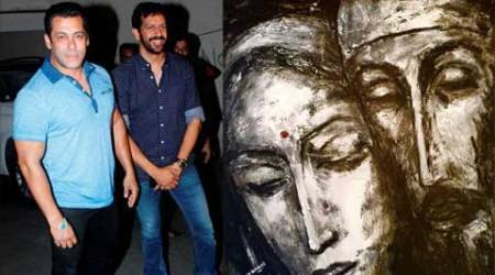Kabir Khan gets painting as gift from Salman Khan