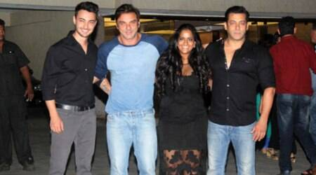 Salman's sister Arpita's birthday bash was a grand affair