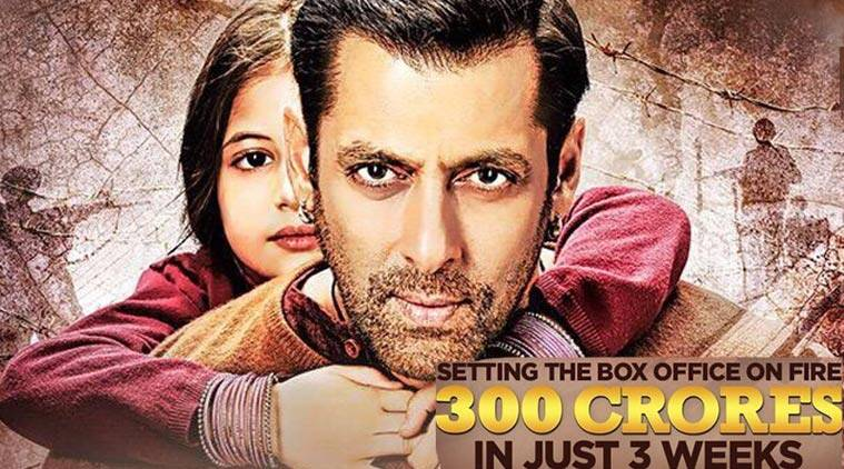 salman khan, bajrangi bhaijaan, bajrangi bhaijaan 300 cr, 300 cr club, bajrangi bhaijaan collections, salman, salman khan bajrangi bhaijaan, bajrangi bhaijaan box office collections, bajrangi bhaijaan movie, kareena kapoor khan, bajrangi bhaijaan rating, bajrangi bhaijaan earnings, nawazuddin siddiqui, harshaali malhotra, bajrangi bhaijaan news, bajrangi bhaijaan money, entertainment news, salman khan news, bollywood news