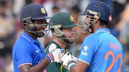 Sanju Samson spit in front of our players foot three times, alleges Australia 'A' skipper UsmanKhawaja