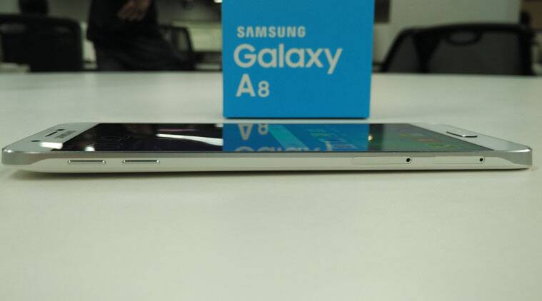 Samsung Galaxy A8 is the slimmest Galaxy phone till date.