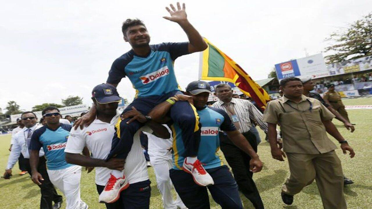 Sri Lanka's Kumar Sangakkara Bids Goodbye To International Cricket