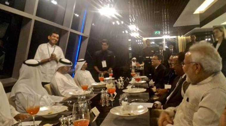 Modi in UAE, Sanjeev Kapoor, Royal Gujrati Thali, Modi in UAE dinner, Modi in UAE dinner menu, narendra modi, india news, news
