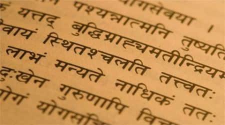 sanskrit, sanskrit in india, sanskrit mother tongue, official language in Uttarakhand, sanskrit extinct language, sanskrit language, indian express opinion