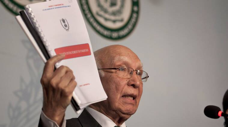 sartaj aziz, pakistan, kashmir issue, paksitan attracting indians, narendra modi, modi kashmir policy, india pakistan relation, pakistan terrorist, pakistan sponsored terror