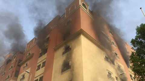 Fire at Saudi oil workers' residential compound kills 10