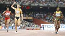 Flying Dutchwoman breaks Jamaica sprint hold