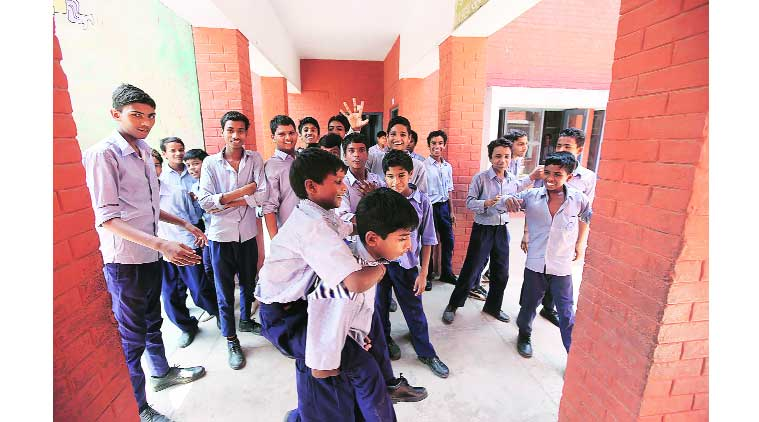 government school, government school benchmarks, CBSE guidelines, school playground, outdoor game, lack outdoor game, chandigarh news, indian express