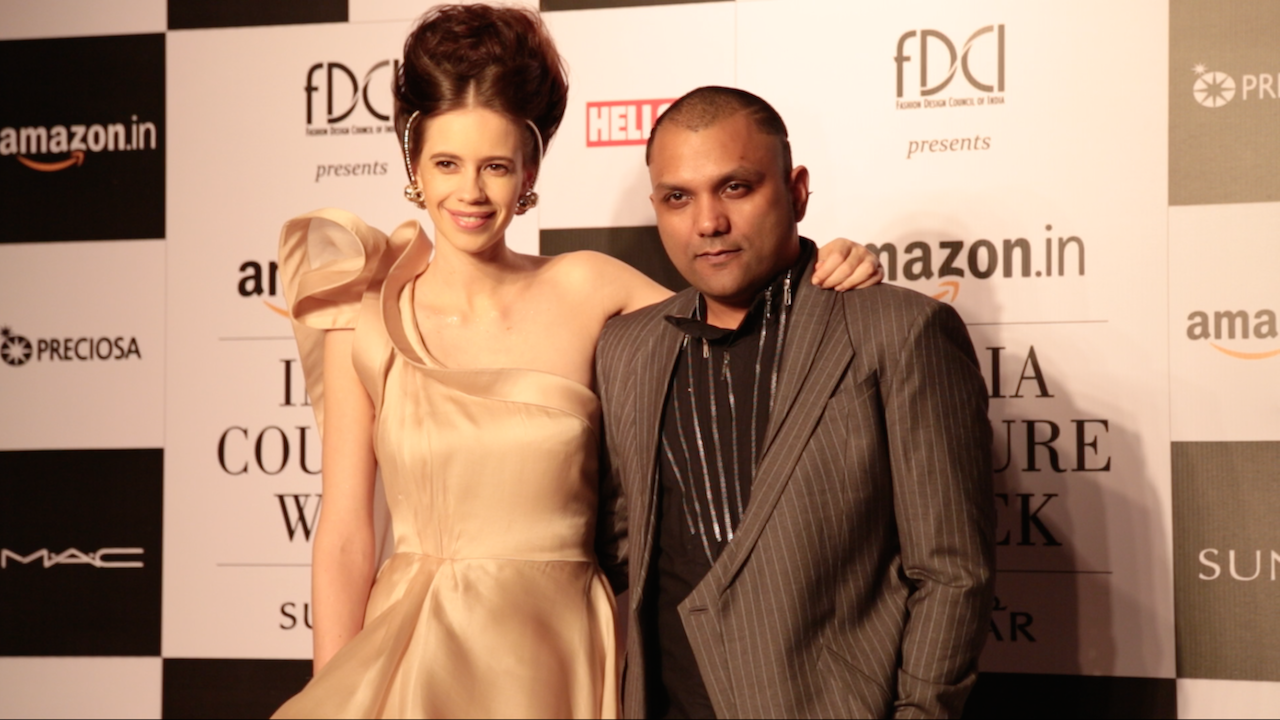 Kalki Koechlin Stuns As Gaurav Gupta's Showstopper At Amazon India Couture Week