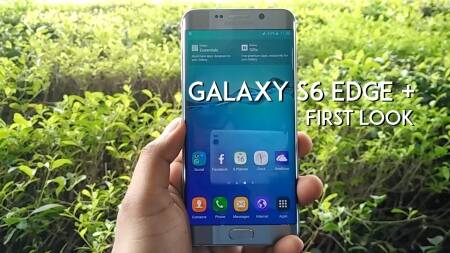 First Look: Samsung Galaxy S6 edge+