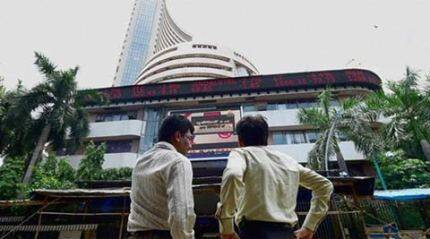 Sensex ends 587 points down at 25,696 on weak GDP data, global cues; Nifty closes at 7,786