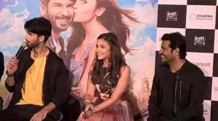 Dad was jealous when I was talking to Alia, says ShahidKapoor