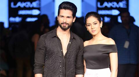 Shahid Kapoor, Mira Rajput, shahid mira, Shahid Mira rajput, Shahid Mira Kapoor, Shahid Mira ramp, Shahid Mira ramp Photos, Shahid Mira Showstopper, Shahid Mira Pictures, shahid Mira Photos, shahid kapoor mira rajput pictures, mira kapoor, shahid mira kapoor, shahid mira pics, entertainment news, shahid kapoor news, shahid kapoor movies, actor shahid kapoor, Lakme fashion Week, Masaba gupta, LFW 2015