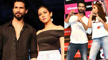 Shahid Kapoor hand-in-hand with wife Mira Rajput at LFW, promotes 'Shaandaar' with Alia Bhatt