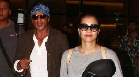 Shah Rukh Khan shoots with 'stunning' Kajol for Dilwale