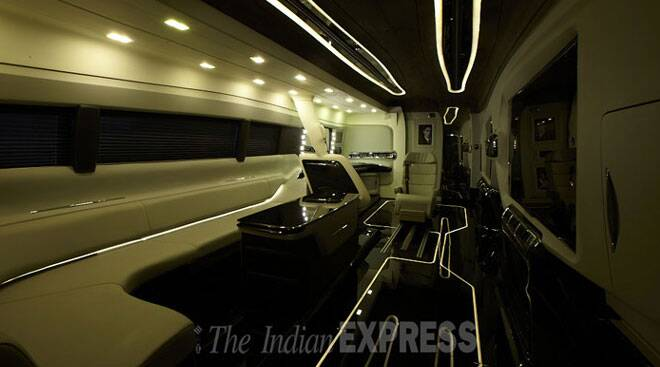 Shah Rukh Khan gets a new vanity van worth Rs 4 cr, see pics