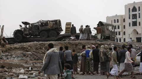 yemen, houthi, sanaa, shiite rebel base, southi rebel base, al anad, al anad yemen, al anad houthi, al anad sanaa, al anad shiite, yemen troops, yemen govt troops, world news