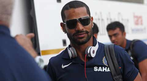 Shikhar Dhawan says 'sorry' after Twitter faux pas