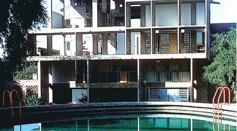 Living In A Cube Corbusier Designed Some Of Ahmedabad S
