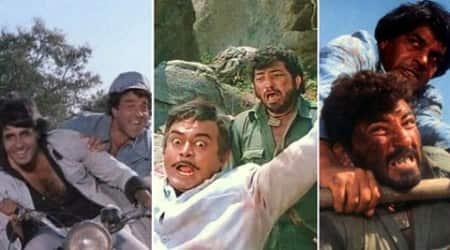 sholay, amitabh bachchan, big b, dharmendra, sholay movie, 40 years of sholay, sholay completes 40 years, amitabh bachchan sholay, dharmendra sholay, sholay pics, jai, veeru, entertainment news