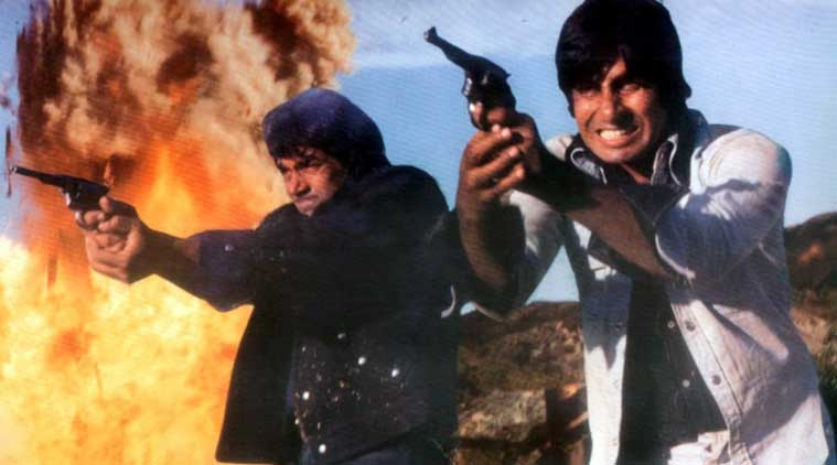 sholay, 40 years of sholay, sholay movie, Amitabh Bachchan, Dharmendra, actor Amitabh Bachchan, actor Dharmendra, Amitabh Bachchan sholay, Dharmendra sholay, Amitabh Bachchan Dharmendra, sholay cast, entertainment news