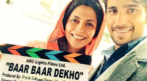 Sidharth Malhotra starts shooting for 'Baar Baar Dekho'