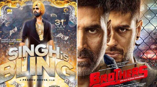 Akshay Kumar, Brothers, Singh is Bliing, Actor Akhshay Kumar, Akshay Kumar Movies, Akshay Kumar Brothers, Akshay Kumar Singh is Bliing, Singh is Bliing trailer, Singh is bliing movie trailer, Brothers release, Brothers Movie Release, Entertainment news