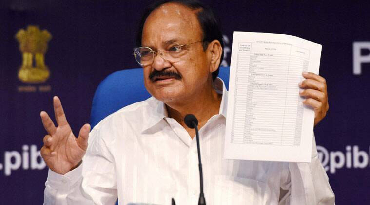 Smarty city, smart cities list, venkaiah naidu