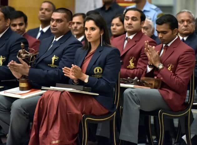 Sania Mirza, Sania Mirza photos, Sania Mirza images, Rajiv Gandhi Khel Ratna, Khel Ratna, Sania Mirza tennis, tennis photos, tennis