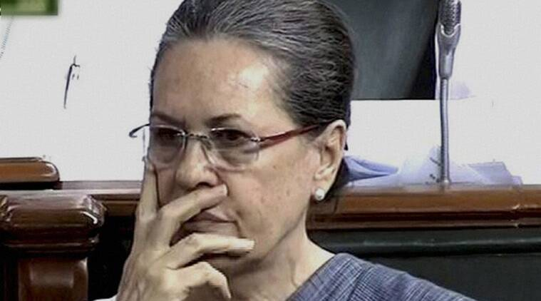 'Black Day' for democracy: Sonia on suspension of 25 Cong MPs