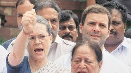 Parliament watch: Congress stares down, Government may blink