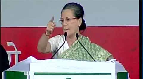 Modi govt has done nothing other than 'show-baazi': Sonia Gandhi