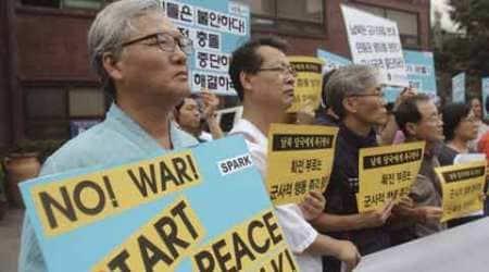 north korea, south korea, koreas tension, kim jong un, koreas war, korea declares war, north korea declares war, kim jong un, korea protests, koreas protest, korea news, north korea news, south korea news, world news