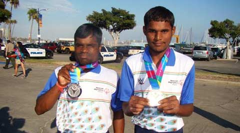 Punjab labourer's son bags gold at 2015 Special Olympics