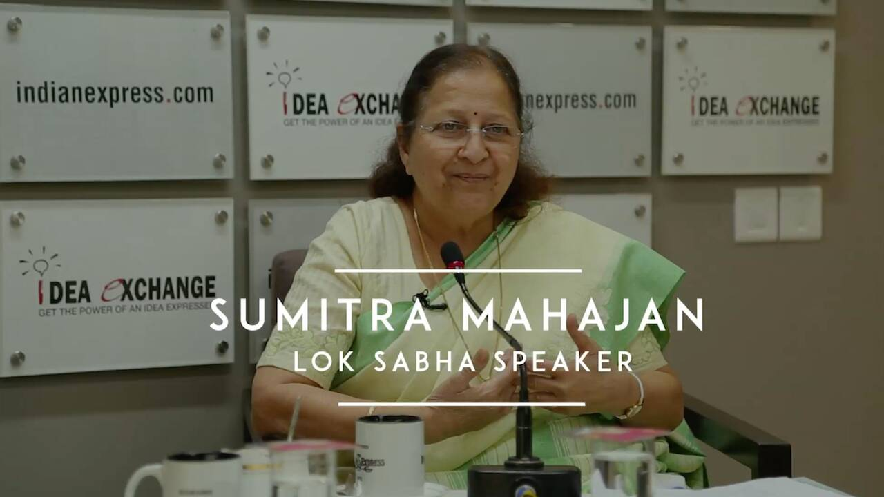 Education Not The Only Criteria For An MP: Sumitra Mahajan