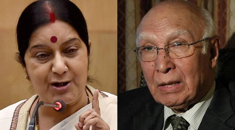 Sartaj Aziz spoke to India's media, our ministers made no effort