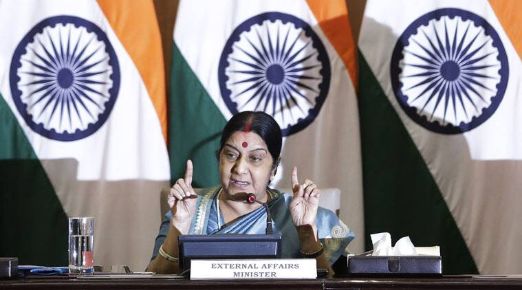 sushma swaraj, africa summit, india africa summit, africa summit news, africa summit updates, india news, latest news