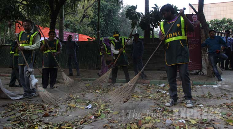 Delhi Cantonment Board steps up sanitation plan; eyes 'Swachh' ranking    Cities News,The Indian Express