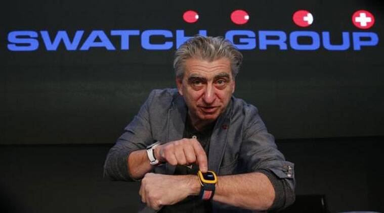 swatch switzerland swatch ceo swatch smartwatch swatch touch zero