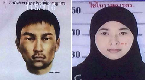 Thai woman, unknown man new suspects in Bangkok bombing probe