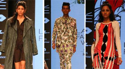 New designers kick off Lakme Fashion Week winter-festive 2015
