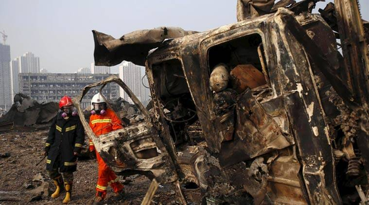 Tianjin Explosion Death Toll Rises To 112 95 Including 10