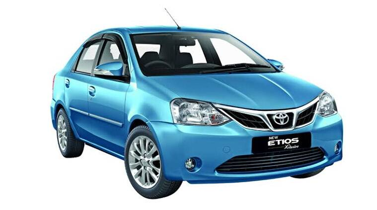 new car launches by toyotaToyota Etios Xclusive edition with touchscreen infotainment
