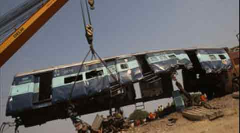 Cronology of major train accidents in recent years