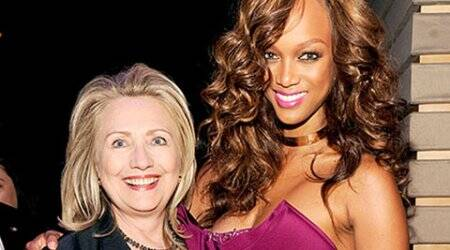 Tyra Banks bonded with Hillary Clinton overcellulite